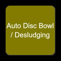 Auto Disc Bowl - Desludging