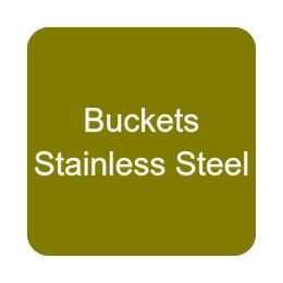 Buckets - Stainless Steel