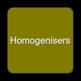 Homogenisers