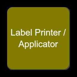 Label Printer - Applicator