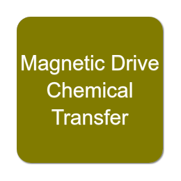 Magnetic Drive Chemical Transfer Pumps