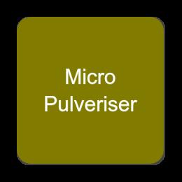 Micro Pulveriser Mills