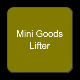 Mini Goods Lifter