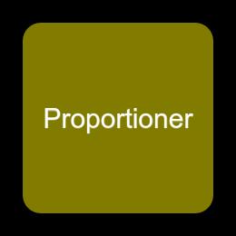 Proportioner