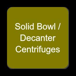 Solid Bowl - Decanter Centrifuges