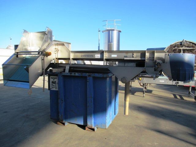 Flat Belt Conveyor, Vanmark, 4100mm L x 600mm W