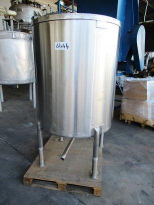 Stainless Steel Storage Tank (Vertical), 1,000Lt, 1000mm Dia x 1250mm H