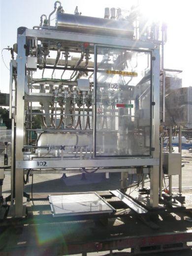 Volumetric Liquid Filler, Capacity: 5Lt, 8 Head Flow Meter