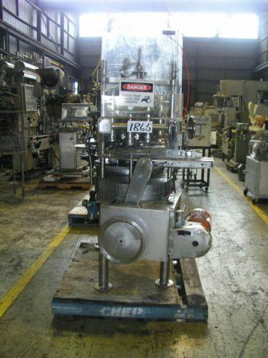 Volumetric Liquid Filler, Bingham, 12 Head Rotary Piston