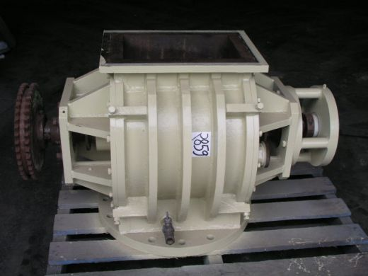 Drop Through Rotary Valve, IN: 370mm L x 250mm W