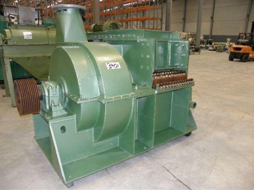 Shredder Mill, Montogomery Ind, 750mm Dia x 600mm L x 500mmW