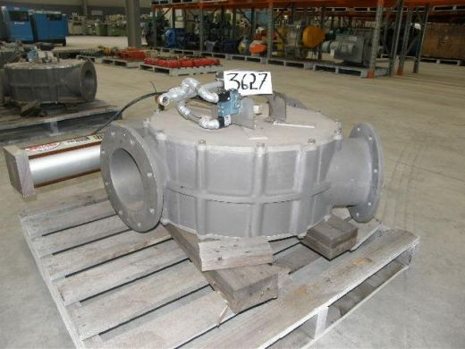 Diverter Valve, IN: 200mm Dia, OUT: 200mm Dia