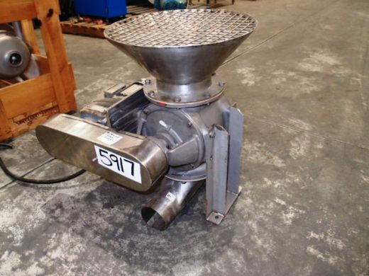 Drop Through Rotary Valve, IN/OUT: 150mm Dia, Nucon