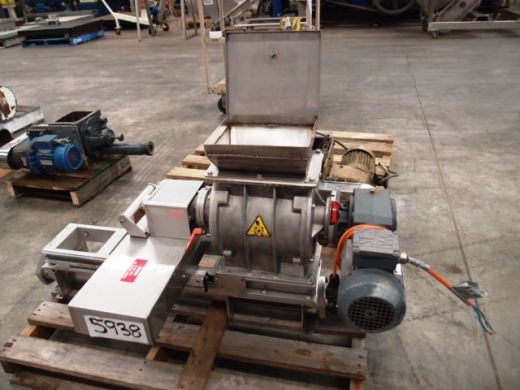 Drop Through Rotary Valve, IN/OUT: 250mm L x 150mm W