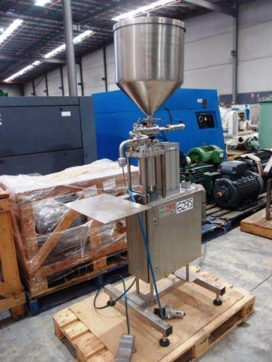 Volumetric Liquid Filler, Single Head, Collier Packaging