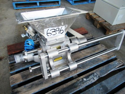 Drop Through Rotary Valve, IN: 150mm Dia x 180mm L, OUT: 150mm Dia x 180mm L, GEA, DT375DEM