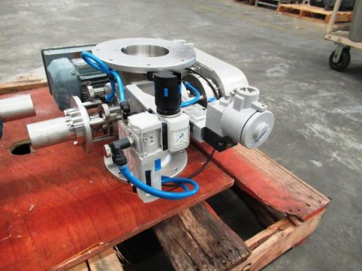 Drop Through Rotary Valve, IN/OUT: 100mm Dia, GEA, DT100DEM