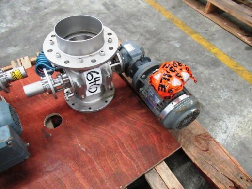 Drop Through Rotary Valve, IN/OUT: 125mm Dia, GEA, DT150DEM