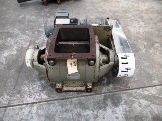 Drop Through Rotary Valve, IN: 185mm L x 155mm W, OUT: 185mm L x 155mm W, Nucon, DT375C
