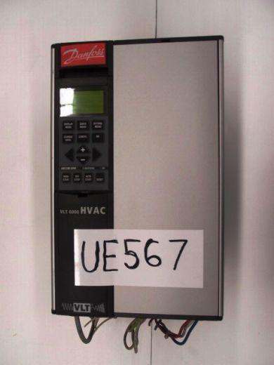 Variable Speed Drive, Danfoss HVAC, 7.2kva, 9.1Amps