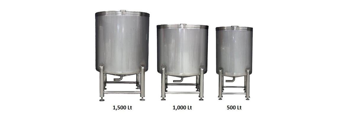 New Mixing/Storage Tanks