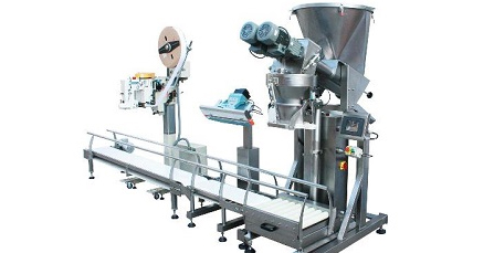 Open Mouth Automatic Bag Filling, Weighing & Sealing Line